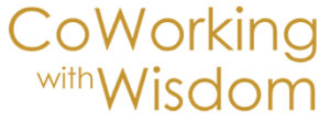 Dharma College Coworking w Wisdom logo